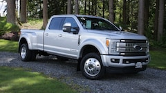 Used  2017 Ford Super Duty F-450 DRW PLATINUM 4WD CREWCAB Truck 1FT8W4DT0HEC71409 in Snohomish, WA