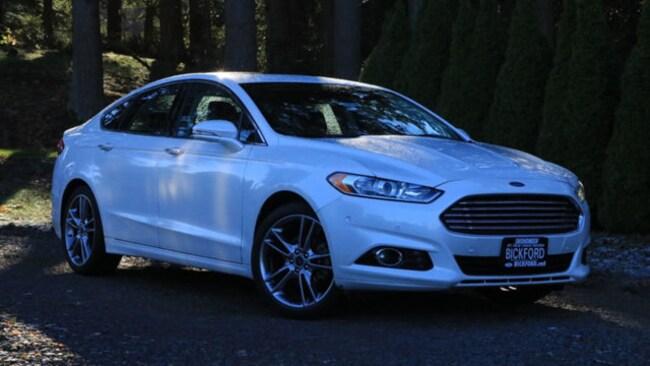 2013 Ford Fusion Titanium FWD Sedan