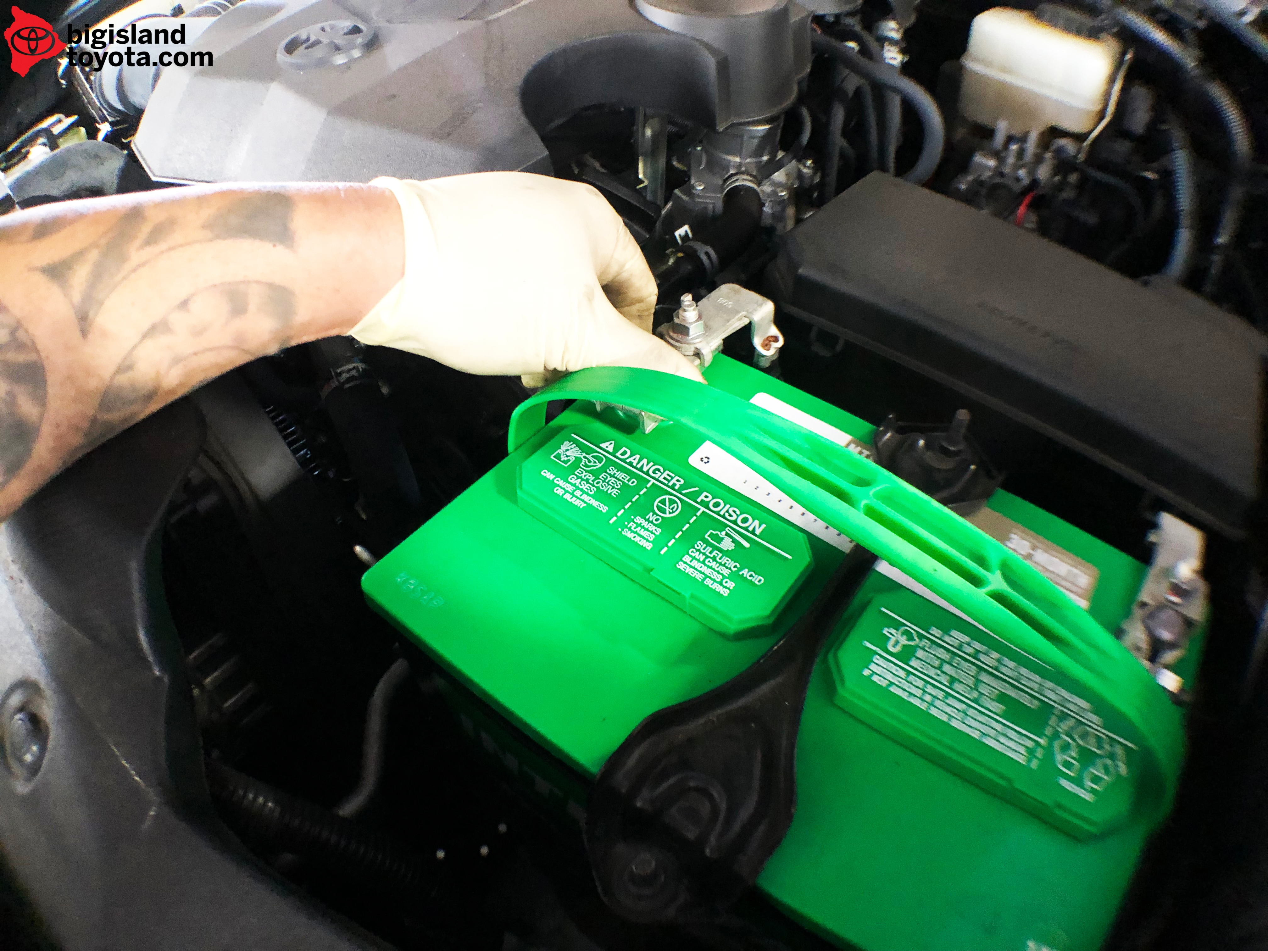 Battery Check is important!