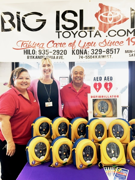 We Were Pleased To Be A Part Of Hilo Medical Center Foundationu0027s Be A  Lifesaver Hawaii Program. On Thursday, October 27th, Big Island Toyota  Hosted An ...