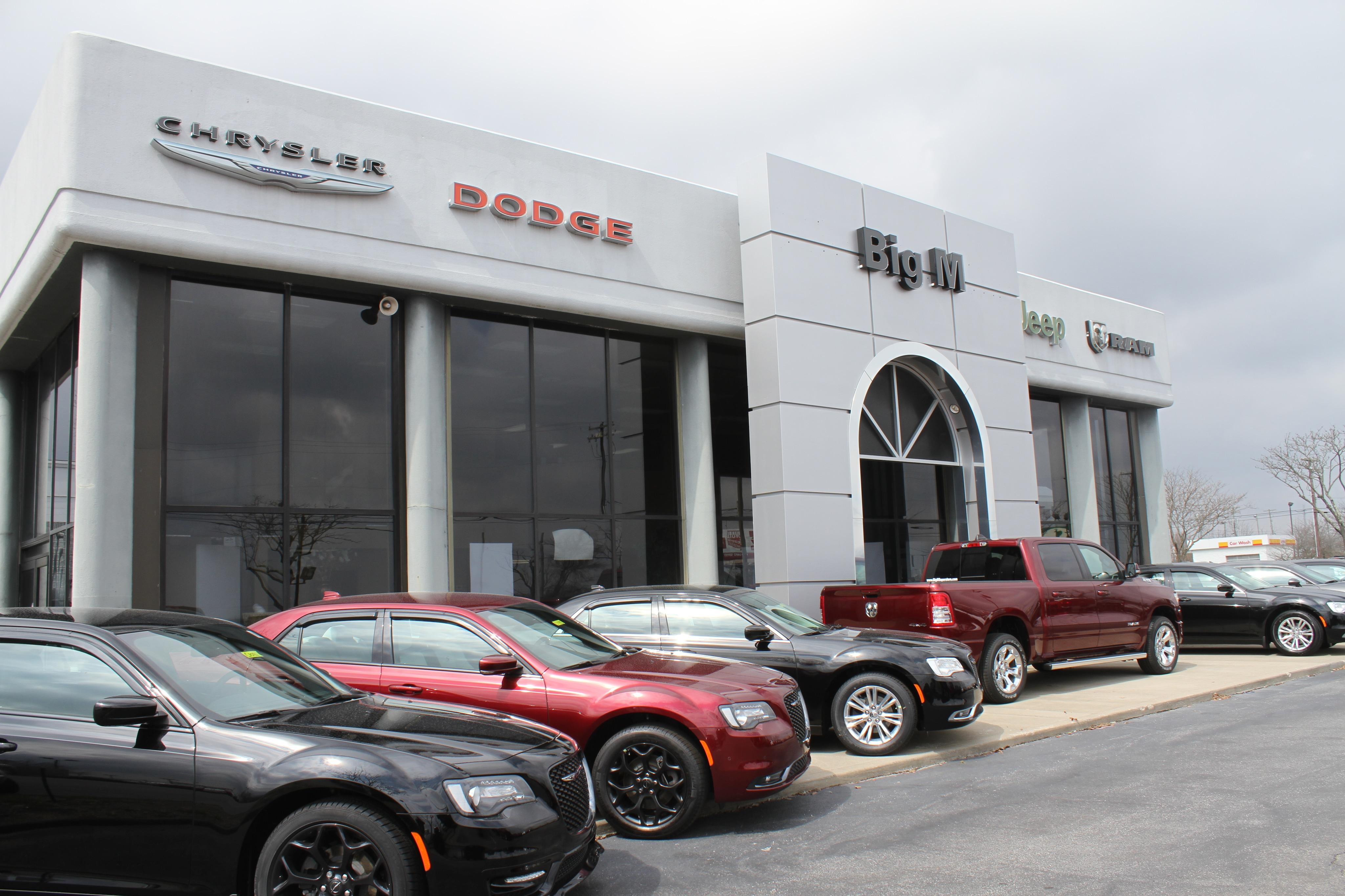 Big M Chrysler >> About Big M Chrysler Dodge Jeep Ram In Nicholasville