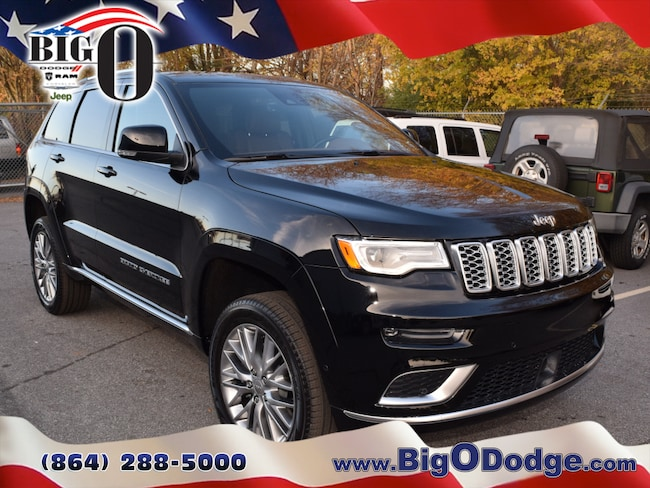 New 2018 Jeep Grand Cherokee SUMMIT 4X4 Sport Utility for sale/lease in Greenville, SC