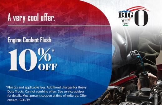 Big O Auto >> Big O Dodge Chrysler Jeep Ram Auto Parts Specials In