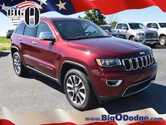 New 2018 Jeep Grand Cherokee LIMITED 4X2 Sport Utility J18411 for sale in Greenville, SC