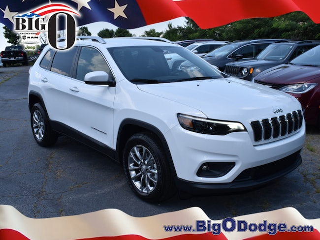 New 2019 Jeep Cherokee LATITUDE PLUS FWD Sport Utility for sale/lease in Greenville, SC