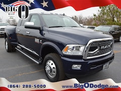 New 2018 Ram 3500 LIMITED MEGA CAB 4X4 6'4 BOX Mega Cab R18078 for sale in Greenville, SC