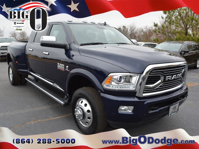 New 2018 Ram 3500 LIMITED MEGA CAB 4X4 6'4 BOX Mega Cab for sale/lease in Greenville, SC