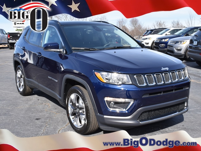 new 2018 jeep compass limited fwd jazz blue pearlcoat for sale lease greenville sc serving. Black Bedroom Furniture Sets. Home Design Ideas