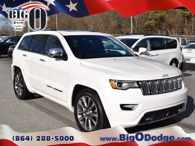New 2018 Jeep Grand Cherokee OVERLAND 4X4 Ivory 3-Coat For Sale in ...