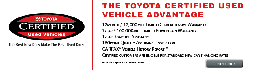 Certified Used Car Dealer In Chandler Big Toyota Has A Great