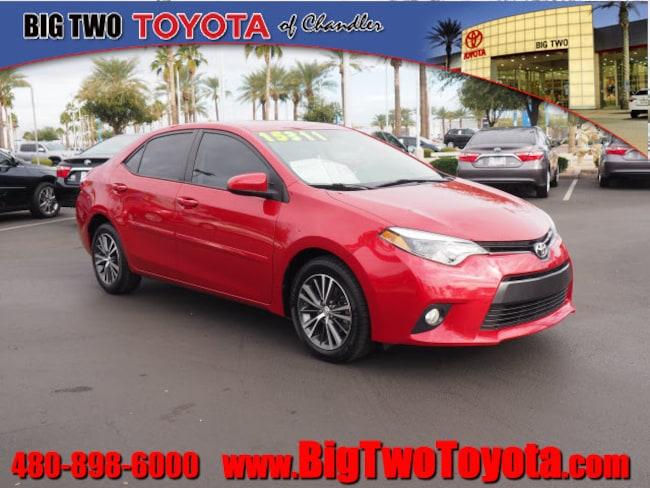 Used 2016 Toyota Corolla S Plus S Plus  Sedan CVT near Phoenix
