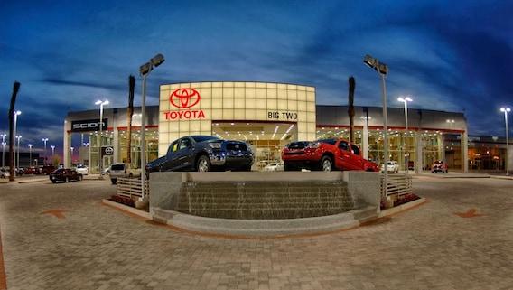 Toyota Dealers Phoenix >> Directions Big Two Toyota From Phoenix Toyota Dealership