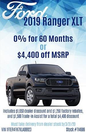 2019 Ranger XLT