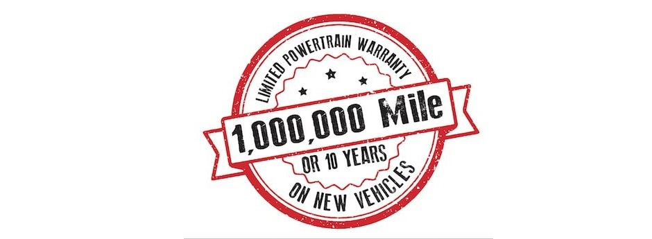 Million Mile Warranty Only At Jason Lewis Automotive Near Crossville TN