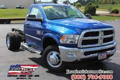 2018 Ram 3500 Chassis TRADESMAN CHASSIS REGULAR CAB 4X4 143.5 WB Regular Cab in Sparta, TN
