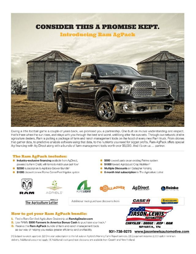 ebfd7220aa Ram Agriculture Dealer Near Crossville Tennessee. Jason Lewis Chrysler  Dodge Jeep Ram