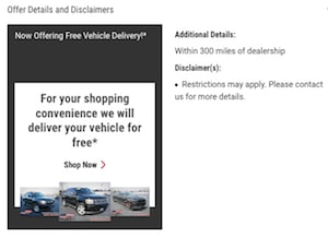 Free Vehicle Delivery Near Crossville TN