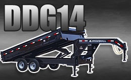 DDG14 Deckover Dump Trailers near Cookeville TN
