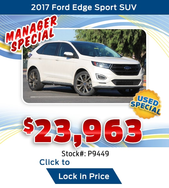 2017 Ford Edge Sport SUV Used Special