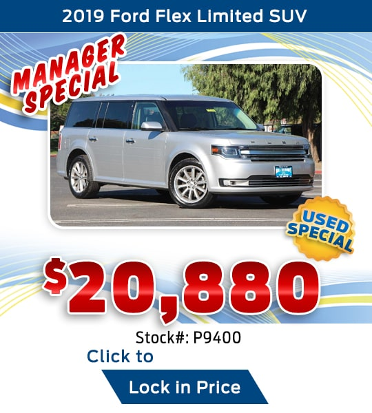 2019 Ford Flex Limited SUV Used Special