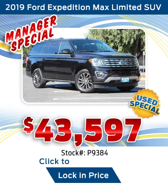 2019 Ford Expedition Max Limited SUV Used Special
