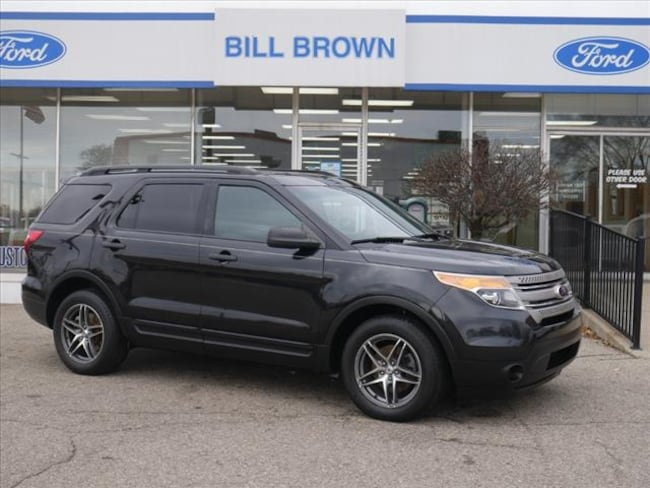 Used 2013 Ford Explorer Base SUV for sale in Livonia