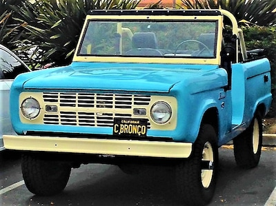 1960 Ford Bronco in Blue