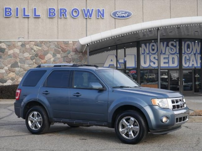 Used 2010 Ford Escape Limited SUV for sale in Livonia