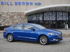 Bargain 2017 Ford Fusion SE Sedan for sale in Livonia, MI