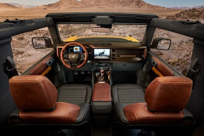 2021 Ford Bronco Black Diamond 2-Door (Interior)