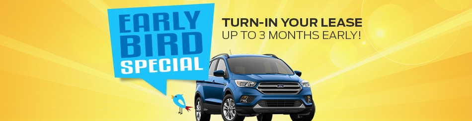 Ford Early Bird Lease Pull Ahead Offer | Bill Brown Ford