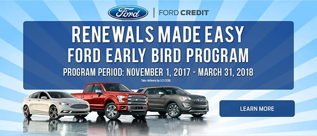 Ford Early Bird Lease Pull Ahead Offer Bill Brown Ford