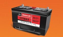 $40 Rebate on Motorcraft Batteries