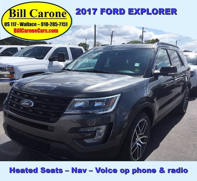 used 2017 ford explorer for sale wallace nc
