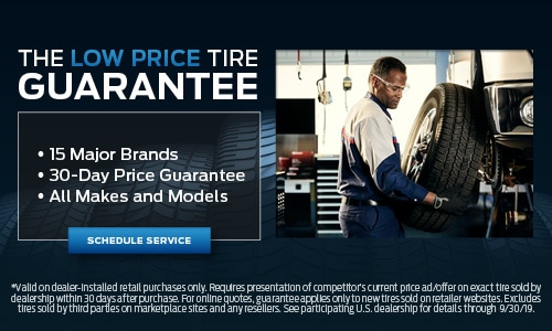 The Low Price Tire Guarantee