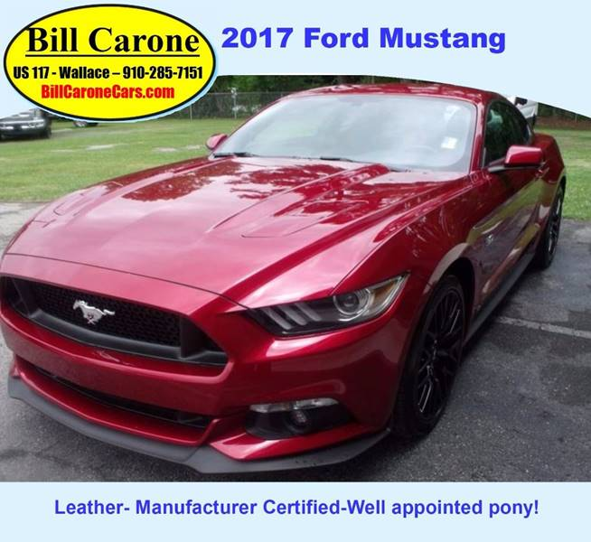 2017 Ford Mustang GT 2dr Fastback Coupe
