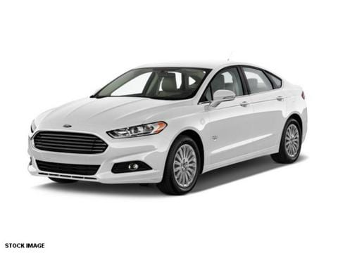 2015 Ford Fusion Energi SE Luxury Sedan