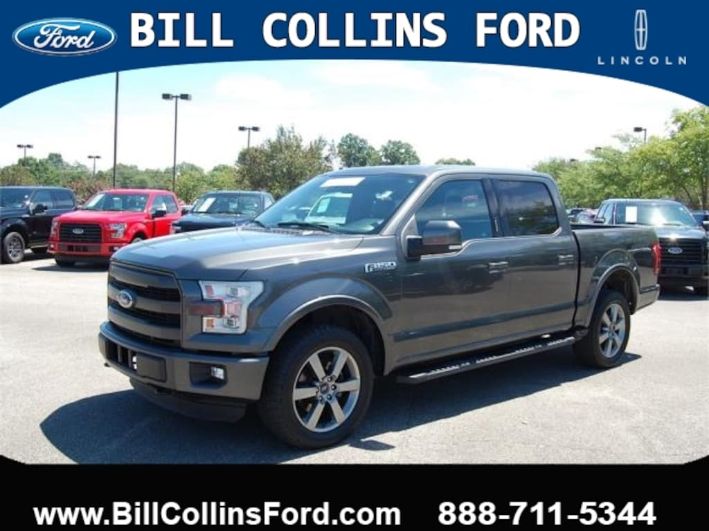 Lincoln Truck 2015 >> Used 2015 Ford F 150 For Sale At Bill Collins Ford Lincoln Of
