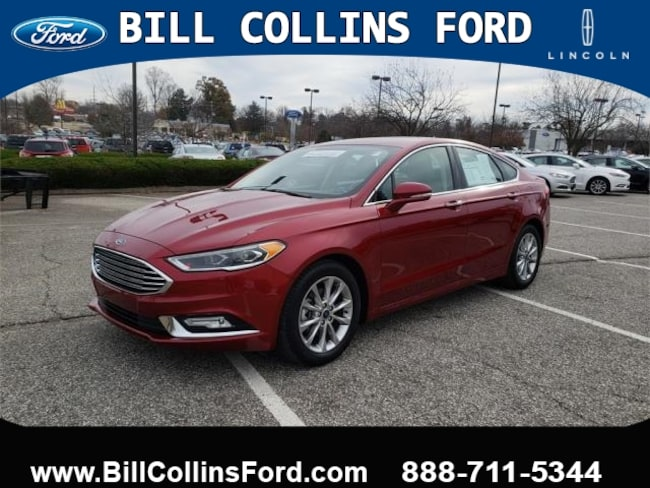 2017 Ford Fusion SE FWD sedan For Sale in Louisville