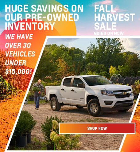 Pre- Owned Inventory Under $15,000!