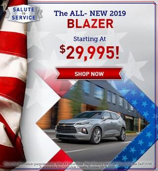 New 2019 Chevrolet Blazer