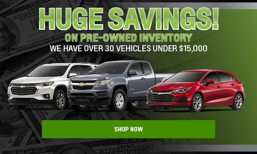 Huge Savings On Pre-Owned Inventory