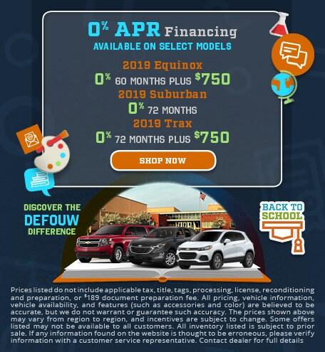 0% APR Finance on Select Models SUV