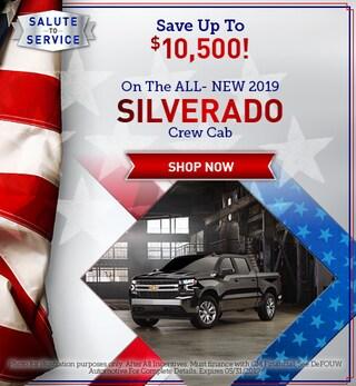 New 2019 Chevrolet Silverado Crew Cab