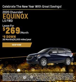 2020 Chevrolet Equinox Lease