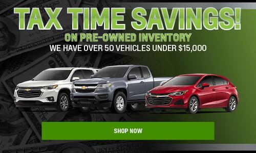 Tax Time Savings - Bargain Inventory