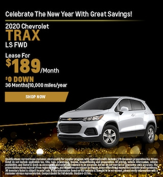 2020 Chevrolet Trax Lease