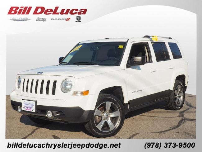 2016 Jeep Patriot High Altitude 4x4 High Altitude  SUV