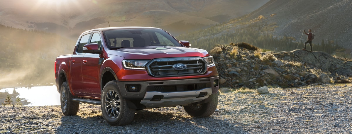 2019 Ford Ranger Lariat SuperCrew Truck