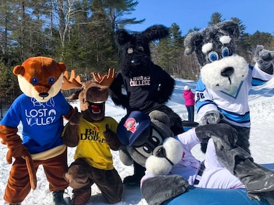 Mascot Day at Lost Valley